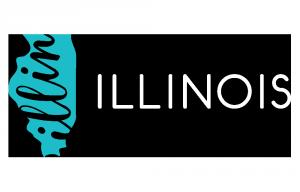 IOT Logo Horizontal Illinois Blue RGB Reversed