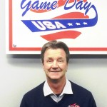 Don Flynn with GDUSA logo